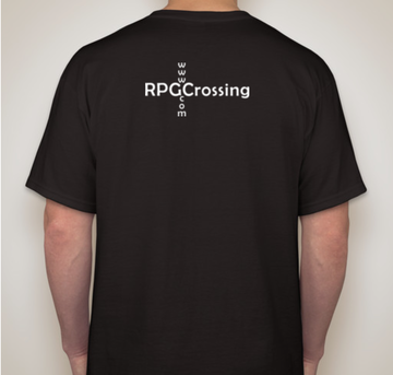 mockup of back of shirt